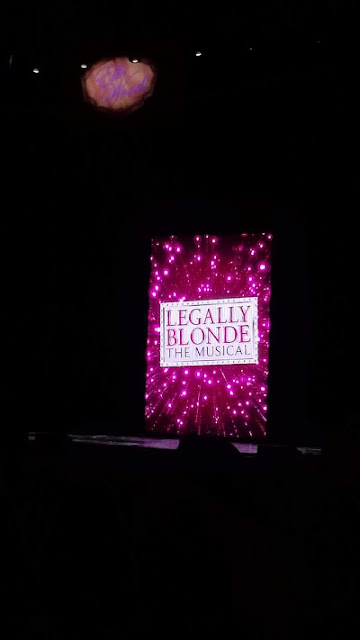 Legally Blonde, at the Fox Theatre, Detroit