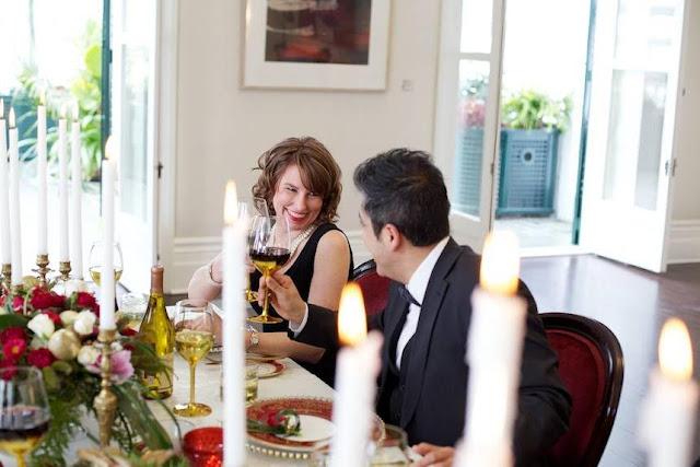 Souper gastronomique Domaine Cataraqui St-Valentin romantique