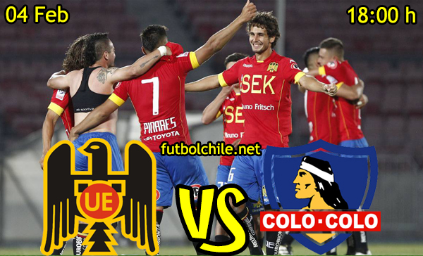 Ver stream hd youtube facebook movil android ios iphone table ipad windows mac linux resultado en vivo, online:  Unión Española vs Colo Colo