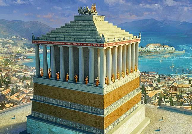 Mausoleo de Halicarnaso. Comentario.