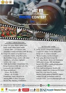 Lomba Fotografi I-Sat Photo Contest 2018 Untuk Pelajar & Umum