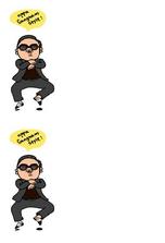 tutorial buat gambar oppa gangnam style di chatbox Facebook