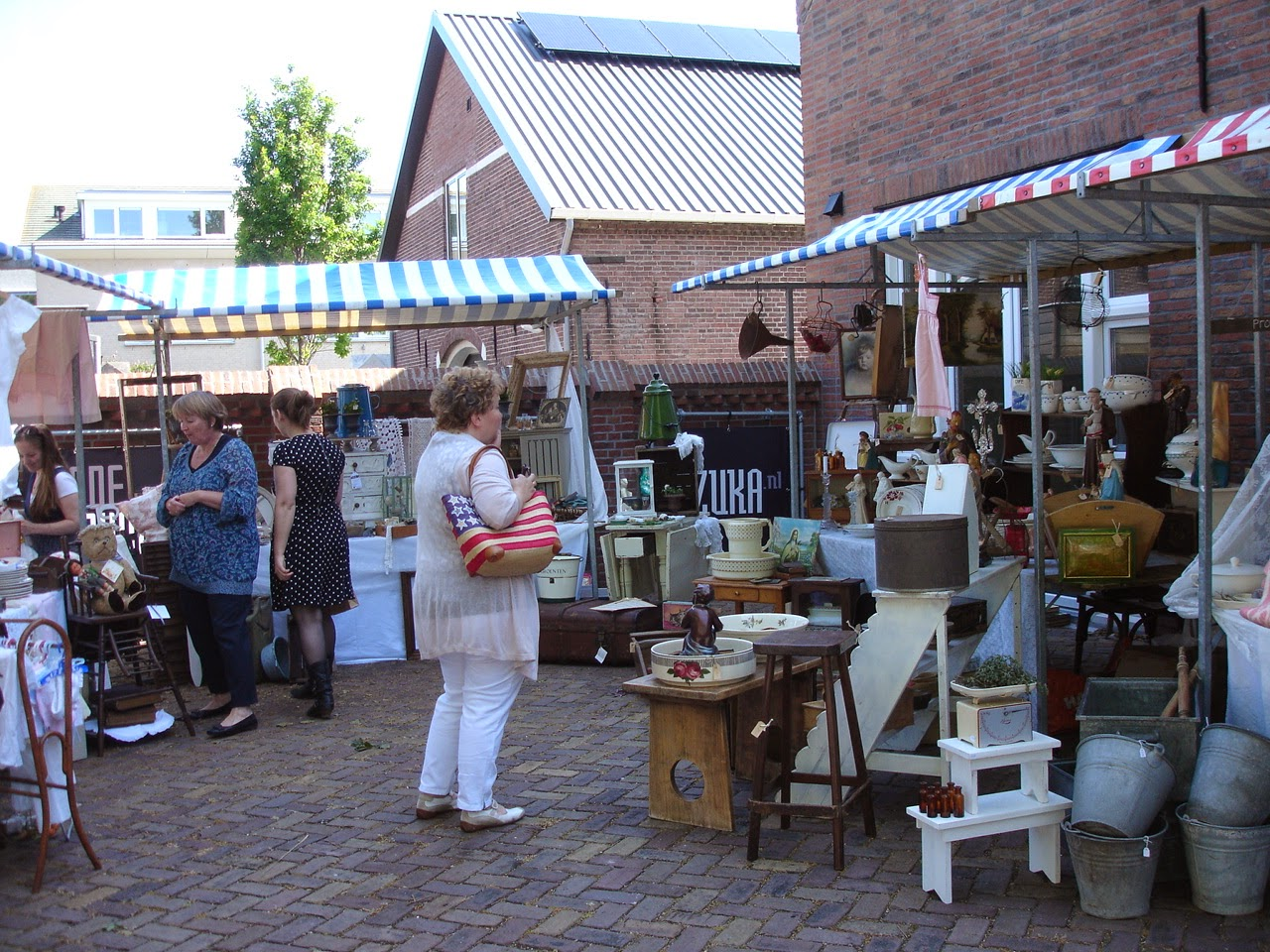 Brocante Charmante Spontanausflug Nach Holland