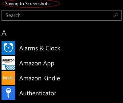 Cara Mengambil Screenshot di Windows Phone