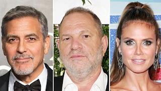 George Clooney, Heidi Klum, More Stars to Defend Harvey Weinstein in amfAR Donation Dispute