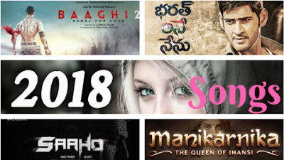 Latest songs 2018