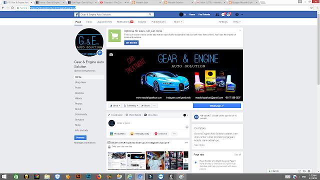 Follow Facebook Page Kami