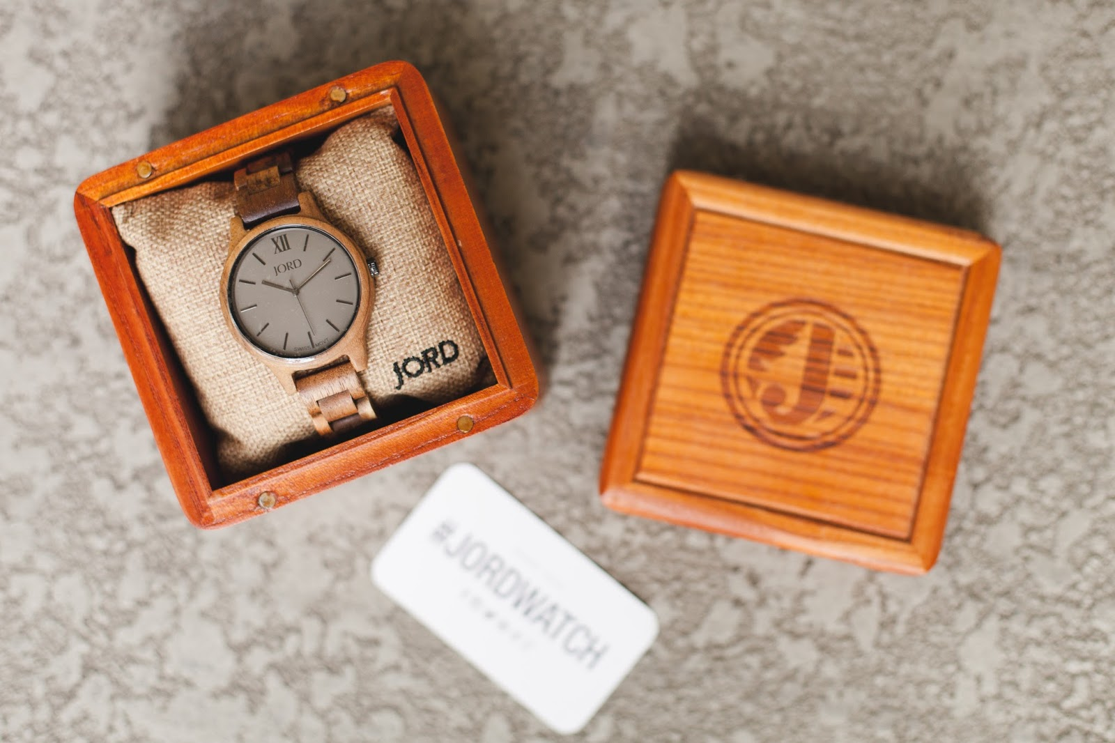 JORD Koa & Ash Wooden Watch #JORDWATCH