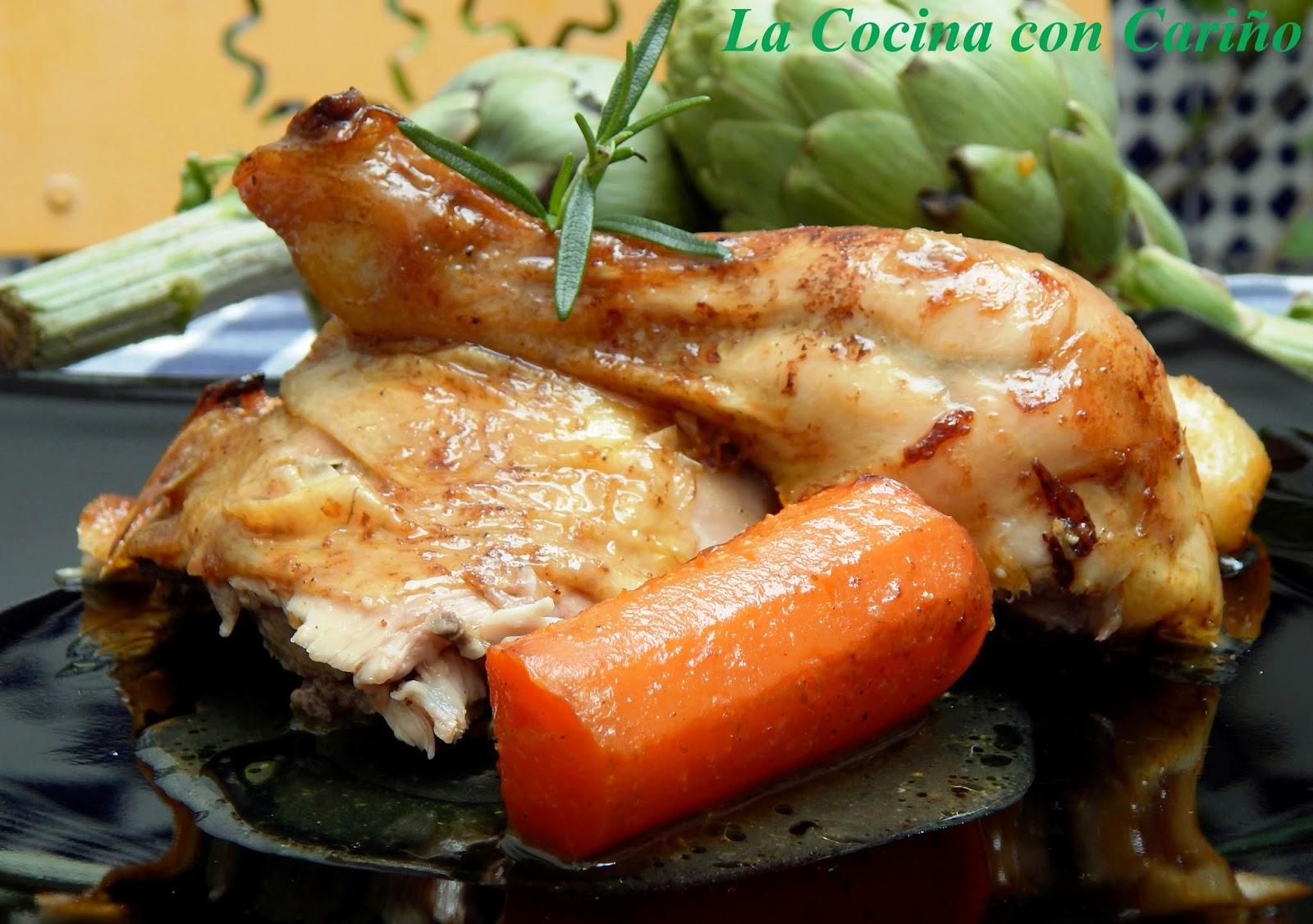 La cocina con cari o pollo al horno con lim n y curry - Limpiar horno con limon ...