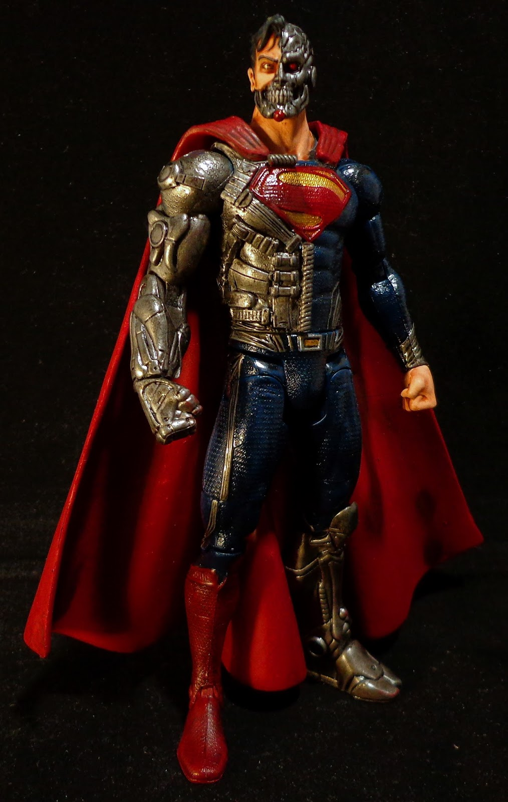 Stronox Custom Figures: DC Movie Masters Cyborg Superman