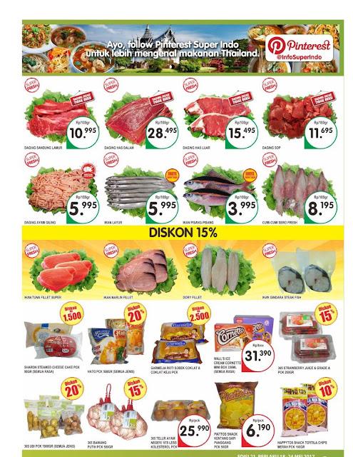 Katalog Super Indo Bandung, Sukabumi, Cirebon, Mojokerto, Kediri, Jombang Periode 4-10 Mei 2017