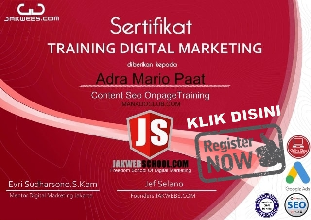 sertifikat digital marketing, kursus digital marketing