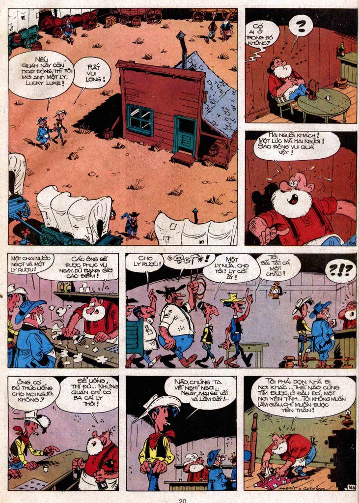 Lucky Luke tap 3 - doan lu hanh trang 16