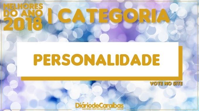 Vote na categoria Personalidade 2018 | Melhores do Ano 2018