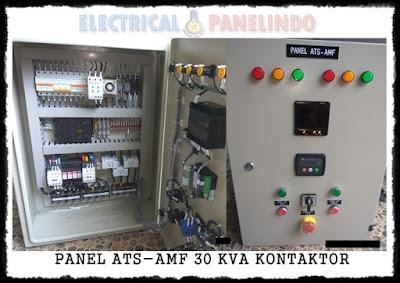 JUAL PANEL ATS AMF 30 KVA KONTAKTOR
