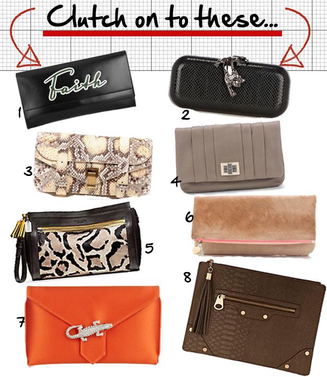 stylish clutches