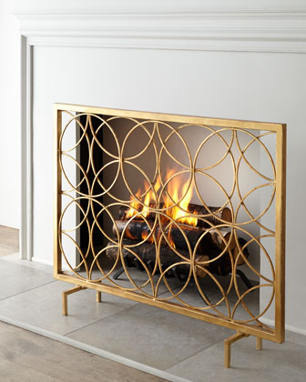cover screen fireplace diy enchanted screens
