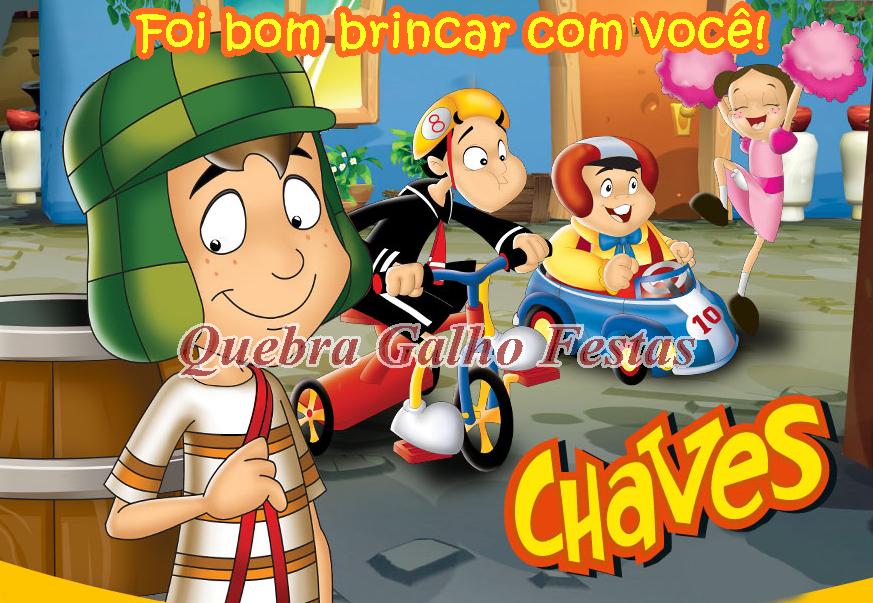 Lembrancinhas do Chaves.