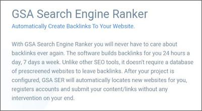 GSA Search Engine Ranker educationfresh.com