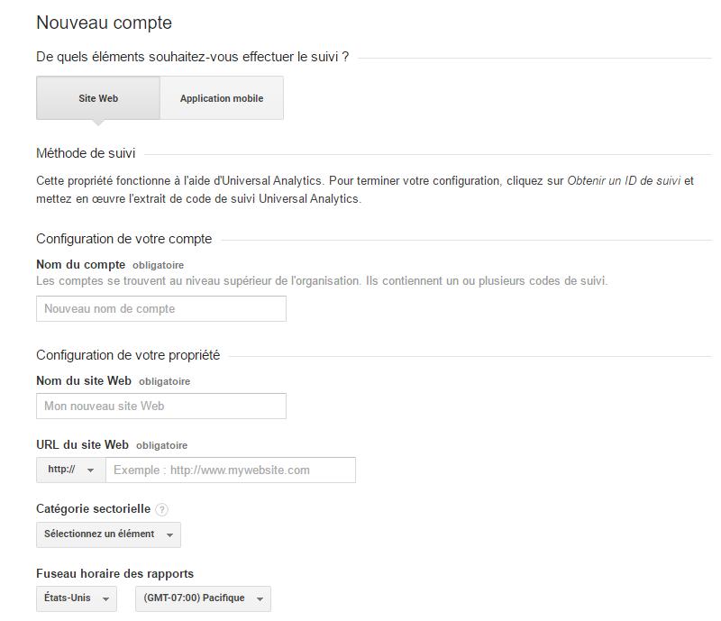 Ajouter Google Analytics sur Blogger
