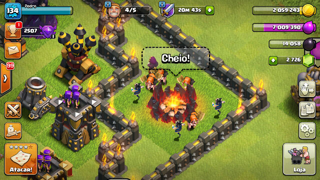 Nova Tropa Mago Elétrico no Clash of Clans