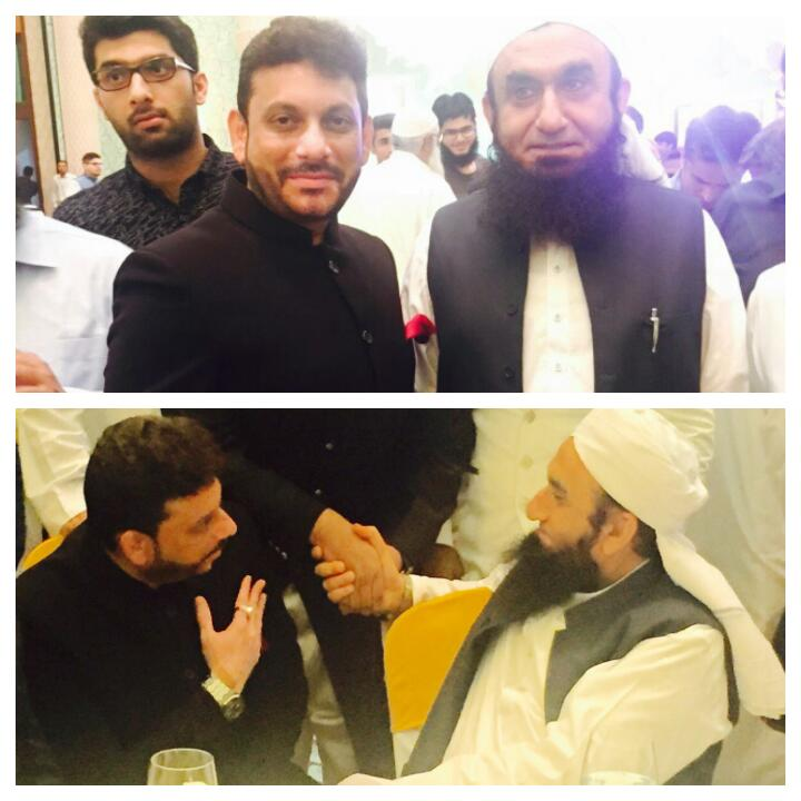 moulana tariq jameel meet with a pathan