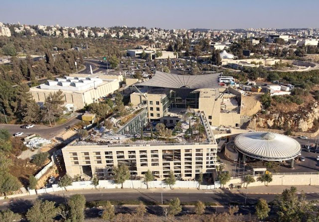 The Jay and Jeanie Schottenstein National Campus for the Archaeology of Israel is taking shape in Jerusalem