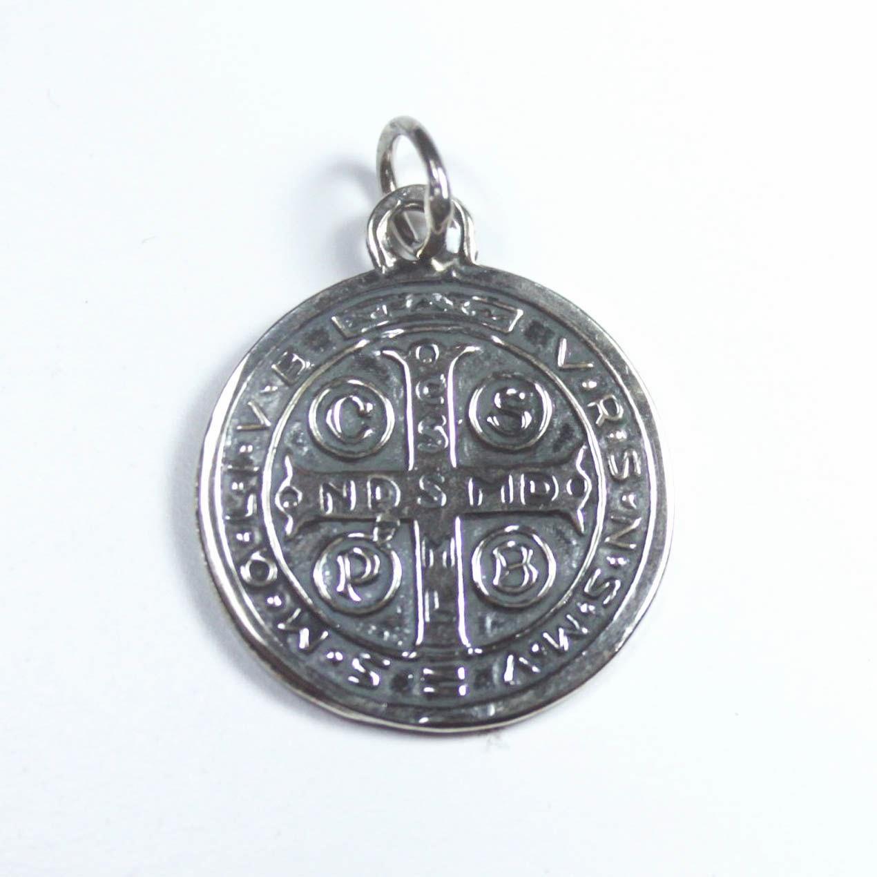 b9c431330bb Blog de cotilleo en español  Comprar Medalla de San Benito plata