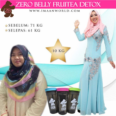 IMAAN Fruity Daily Detox, IMAAN zero belly, produk imaan, imaan fruitea daily detox, imaan slimming fruit tea, detox, water with lemon, misi kurus, detox water meaning, detox water benefits, detox water for skin, cucumber detox water, orange detox water