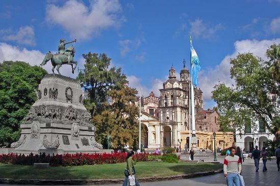 Plaza San Martín em Córdoba, Argentina