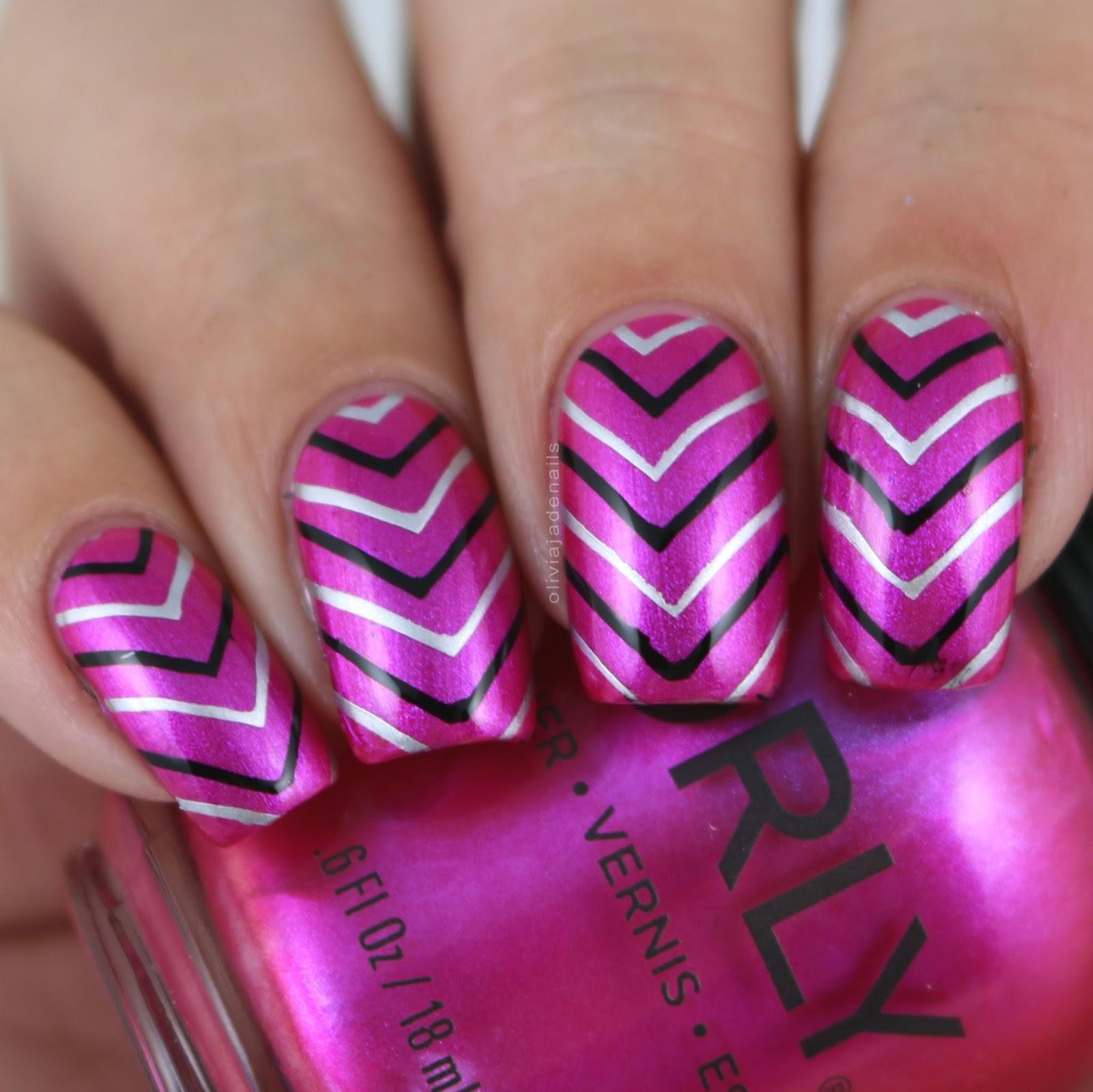 Olivia Jade Nails: Lina Nail Art Supplies Feeling Shapely 01, 04 ...