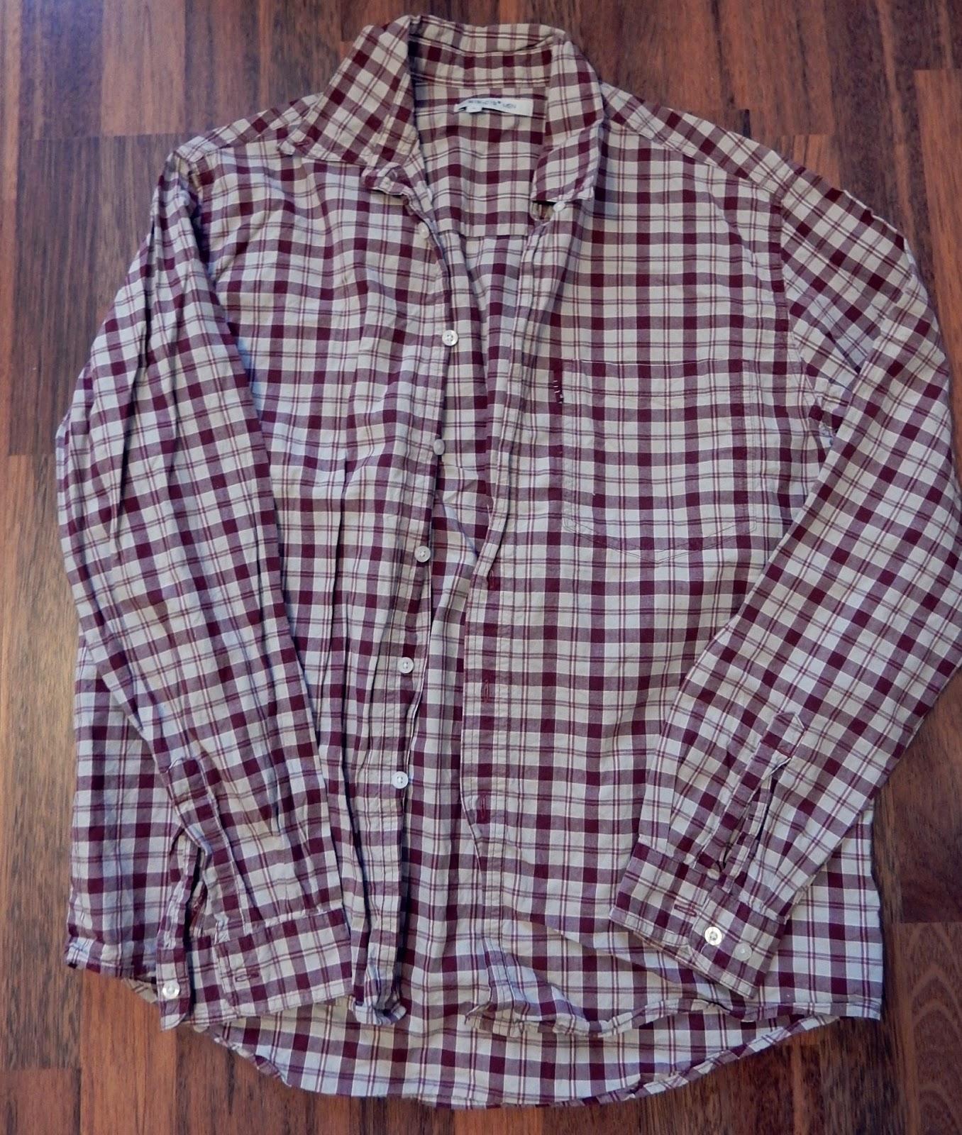 Siivouksen lomassa vastaan tulikin juuri sopiva miesten paita ja babydoll  tyyppinen paita minulle saatiin aloitettua. Siivous kannattaa siis. 28bdcf04e3