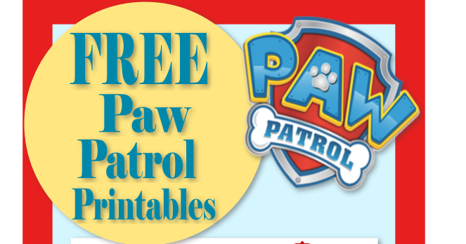 graphic regarding Paw Patrol Logo Printable titled Mamas Long gone Cunning: Paw Patrol Birthday- Celebration- Puppy dog-tastic