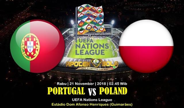 Prediksi Portugal Vs Poland 21 November 2018