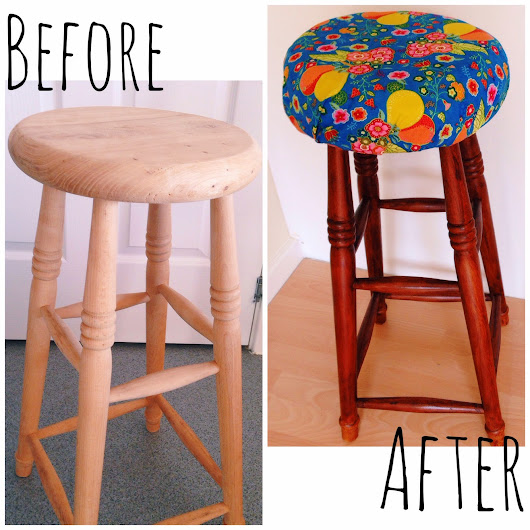 Making Over My Kitchen Stools