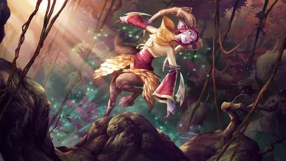 Legends of Runeterra, Greenglade Caretaker, 4K, #4.1600