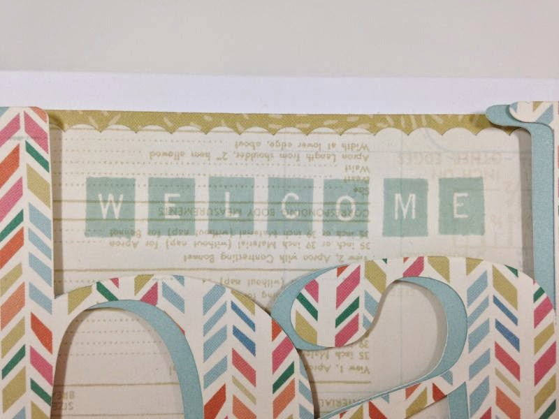 Anna Griffin Bridal and Baby Soiree card closeup