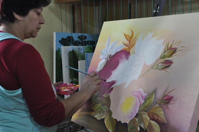 Curso de pintura em tela grátis