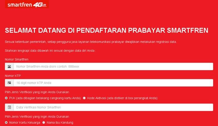 Cara Registrasi Ulang Kartu Smartfren - smartfren.com