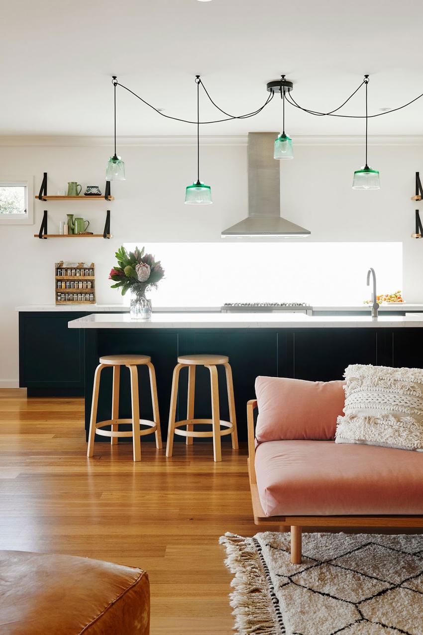 lamparas techo para cocina