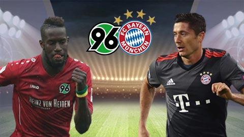 Nhận định trận đấu giữa Hannover vs Bayern Munich