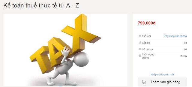 SHARE Khóa Học  :  Kế toán thuế thực tế từ A - Z