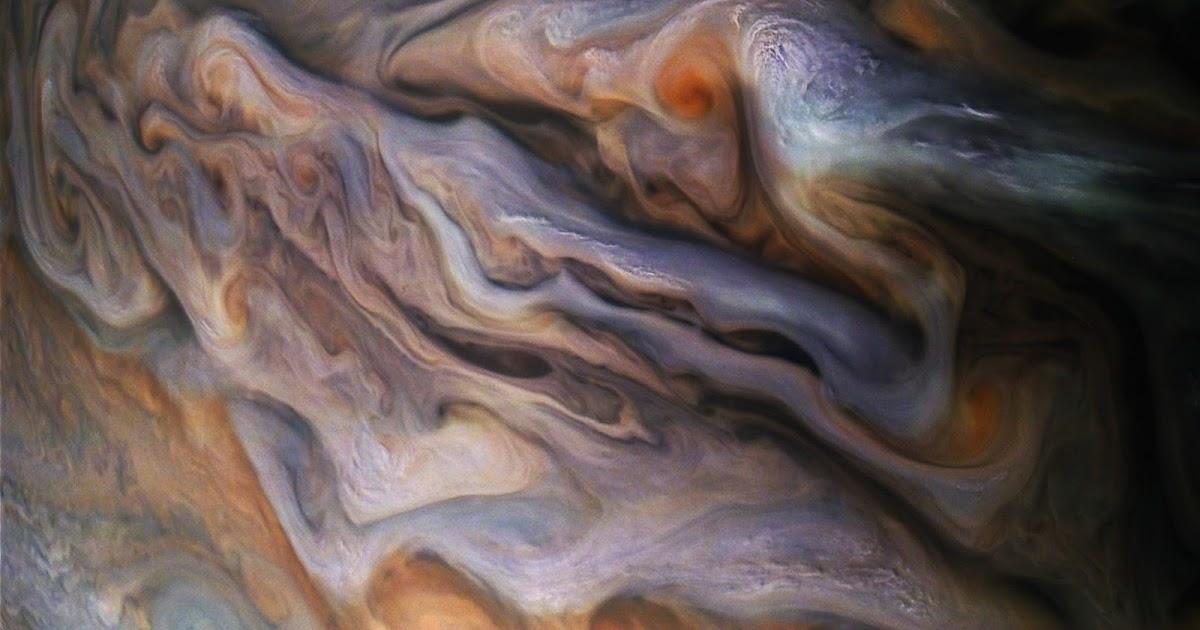Image of the day | Jupiter का एंटीसाइक्लोनिक तूफान
