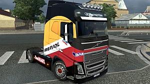 Volvo 2012 Repsol skin mod