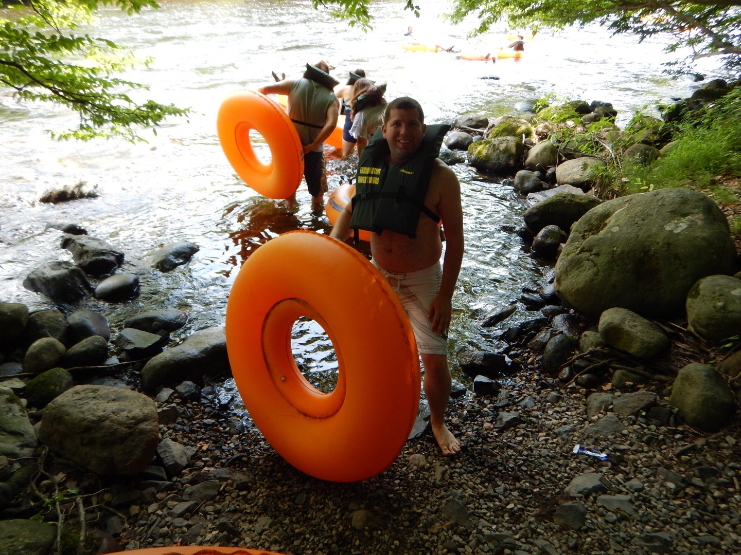 The Andrew Project: : Farmington River Tubing