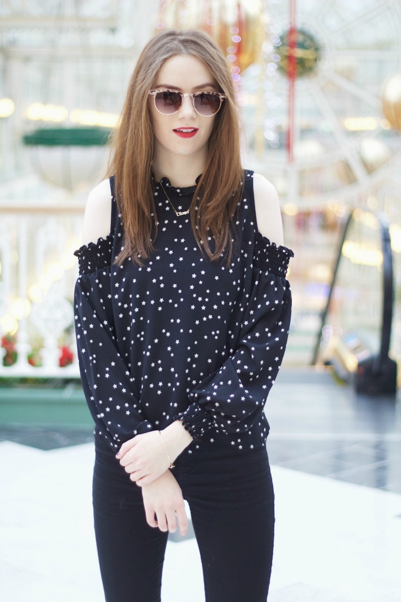 Penneys Star Print Top