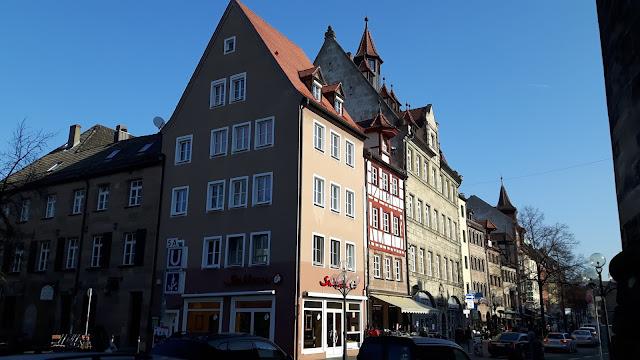 entering Nuremberg