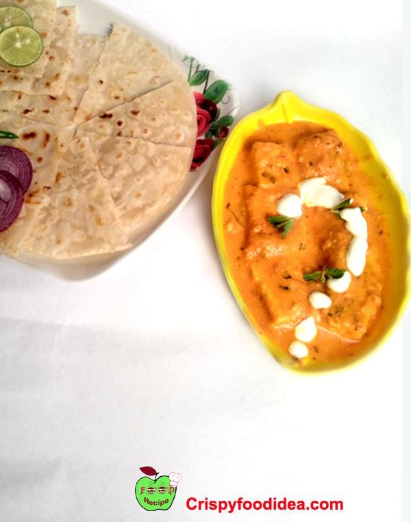 पनीर बटर मसाला | पनीर मखनी | serve paneer butter masala with roti