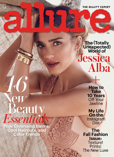 Actress, Model, @ Jessica Alba - W. Davidson for Allure Magazine September 2016