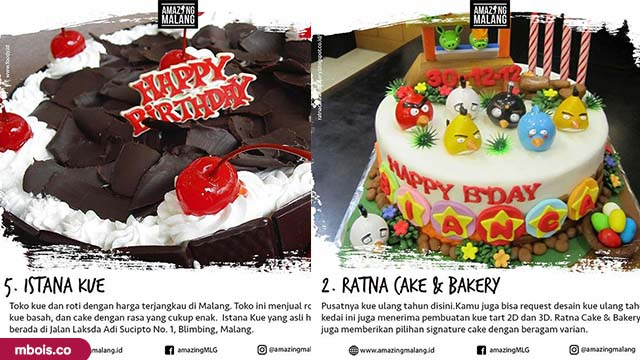 8 Cake & Bakery Yang Hits di Kota Malang by Amazingmalang